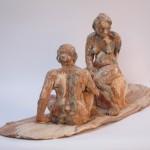 sculpture terre cuite nus modele