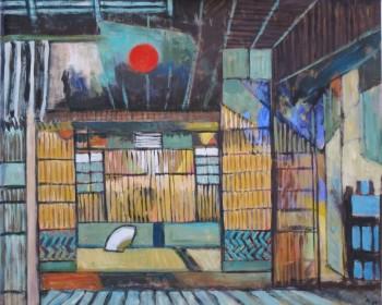 2- Intérieurs japonais (sur toile)