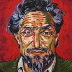 Massoud portrait peinture