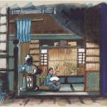 Intérieur japonais - croquis 29 new
