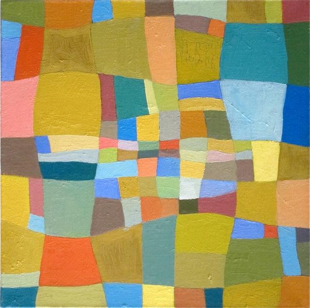 peinture abstraite contemporaine méditative