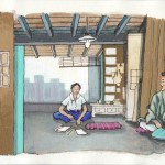 Intérieur japonais - croquis 50 new 2018