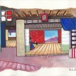 peinture japonais ozu