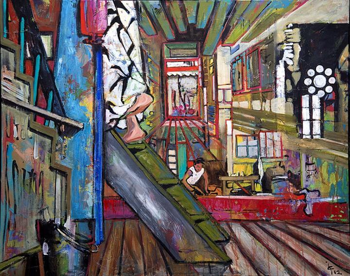 Peinture Isa Corringer - © D Jouxtel 31 web