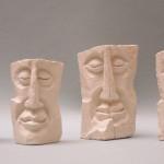 Plâtre sculpté Hauteur 12 cm env.