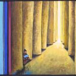Arrière-plans Méditation 16 38x46cm net vendu Ottin