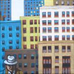 Extérieur NY – petit format 5 net vendu Béa pour Laurent Holvoet
