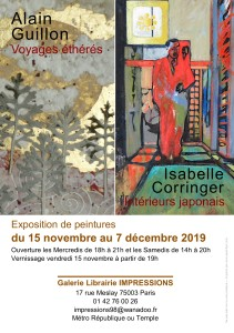 Flyer Expo Impressions - A. Guillon et I. Corringer P1